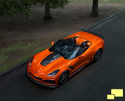 2019 Chevrolet Corvette ZR1 Convertible GM Photograph