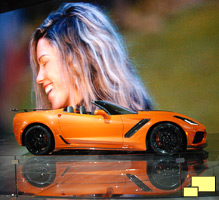 2019 Chevrolet Corvette Convertible in Sebring Orange