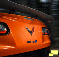 2019 Chevrolet Corvette ZR1 Coupe High Rear Wing STK Option