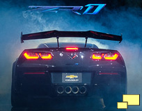 2019 Corvette ZR1 ZTK Performance Package Rear Wing