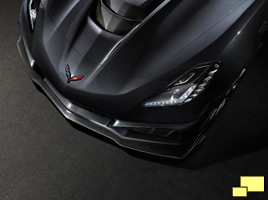 2019 Chevrolet Corvette ZR1 Hood - GM Photograph