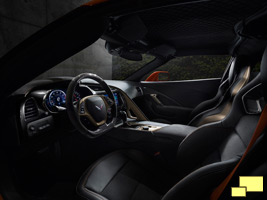 2019 Chevrolet Corvette ZR1 Interior - GM Photograph