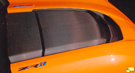 2019 Chevrolet Corvette ZR1 Convertible Carbon Fiber Hood
