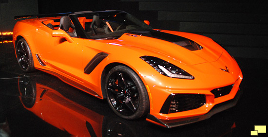 2019 C7 Corvette: ZR1 Convertible, History, Photographs
