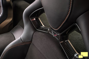 2019 Corvette ZR1 Interior Competition Seat