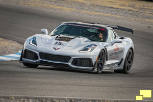2019 Corvette ZR1 at Ron Fellows Driving School