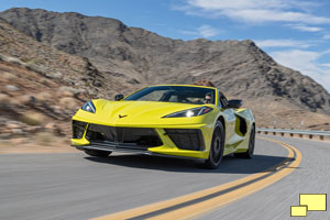 2020 Chevrolet Corvette C8 Stingray in Accelerate Yellow