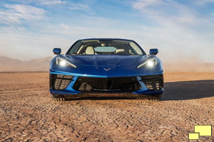 2020 Chevrolet Corvette C8 Stingray in Elkhart Lake Blue