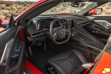 2020 Chevrolet Corvette C8 Stingray Interior