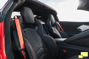 2020 Chevrolet Corvette C8 Jet Black Interior