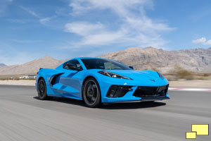 2020 Chevrolet Corvette C8 Stingray in Rapid Blue