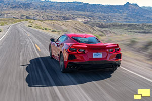 2020 Chevrolet Corvette C8 Stingray in Torch Red