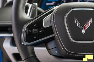 2020 Chevrolet Corvette C8 Stingray Steering Wheel Controls