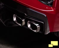 2020 Chevrolet Corvette C8 Stingray Tail Pipes