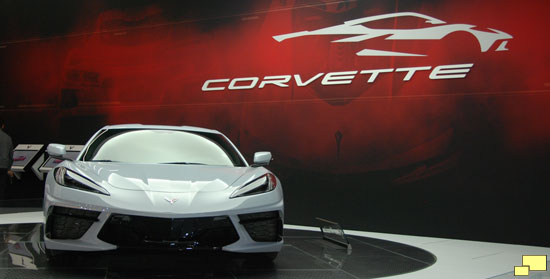 2020 Corvette C8 Mid Engine Ceramic Matrix Gray