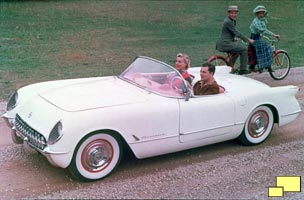 1953 Corvette, GM Photograph