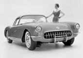 1956, 1957 Corvette Photographs