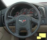 2005 Corvette steering wheel
