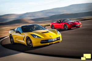 Chevrolet Corvette C7 Stingray Coupe, Convertible