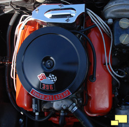 1965 Chevrolet Corvette Stingray 396 engine