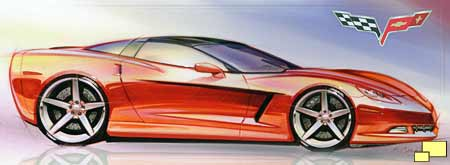 Corvette C6 theme sketch