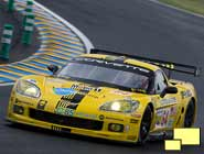 Corvette Racing, 24 Hours of Le Mans Test, June 1, 2008, Le Mans, France, C6.R #64 driven by Oliver Gavin, Olivier Beretta, and Max Papis