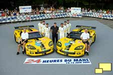 2009 Corvette at Le Mans