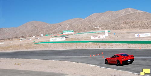 2014 Corvette at Willow Springs International Raceway