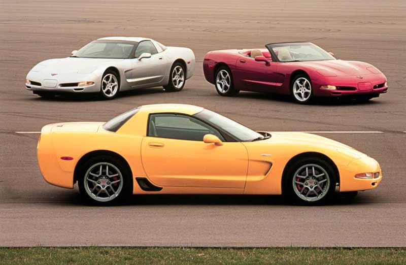 2001 Corvette C5 Lightweight Advantages Visual Clues And