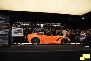 2019 Corvette ZR1 Coupe in Sebring Orange at Barrett-Jackson