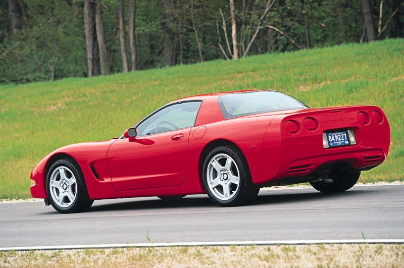 1999 Chevrolet Corvette C5 Hardtop Model Introduced