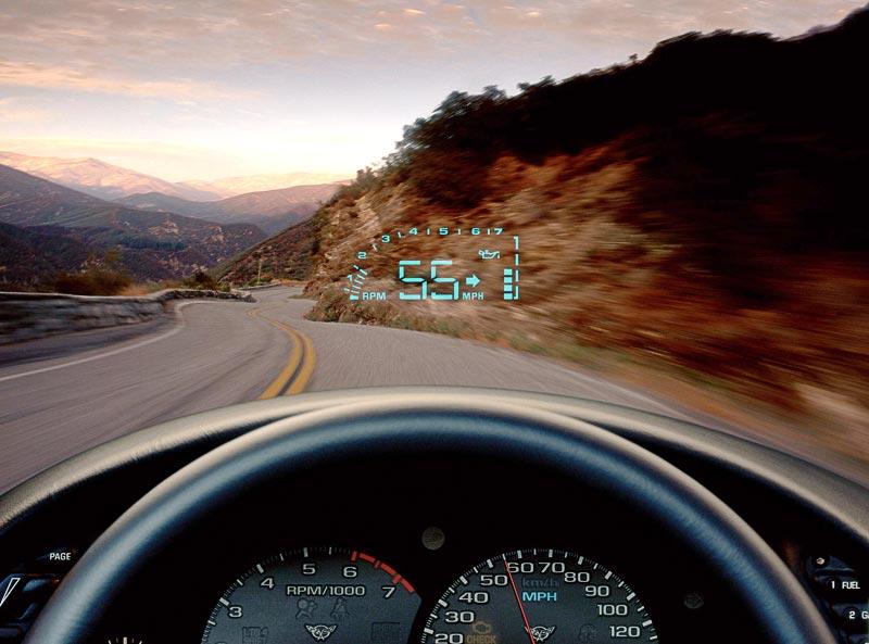 1999 corvette c5 heads up display introduced. Black Bedroom Furniture Sets. Home Design Ideas