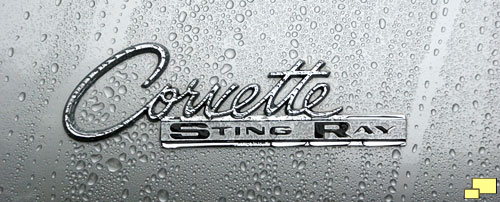 Corvette Sting Ray emblem