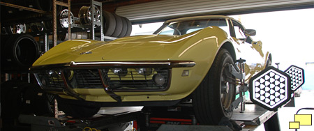 1968 Chevrolet Corvette four wheel alignment