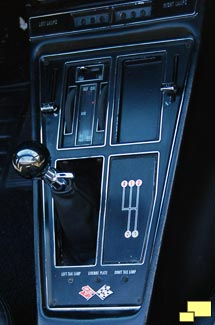1968 Chevrolet Corvette shift console