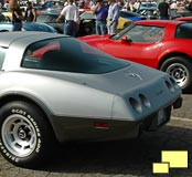 1978 Corvette rear view