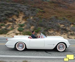 Corvette EX-122 on Pacific Coast Highway