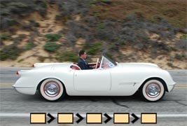 1953 through 1955 Corvette Photographs