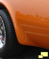 1970 Corvette rear wheel flare