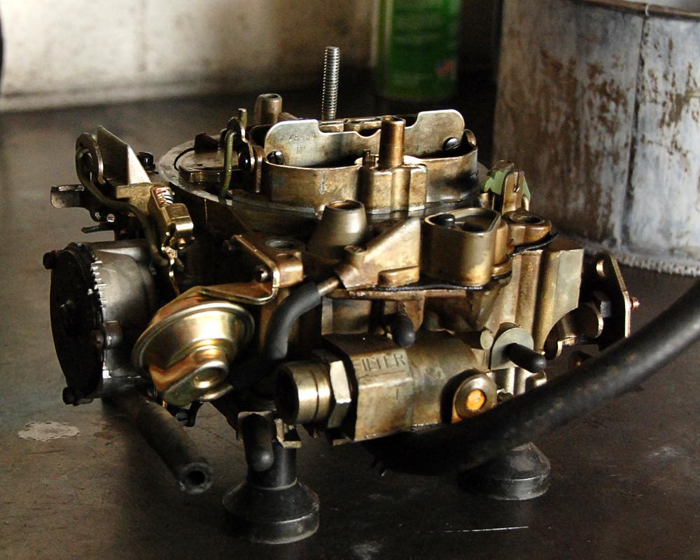 from Gage hook up quadrajet carburetor