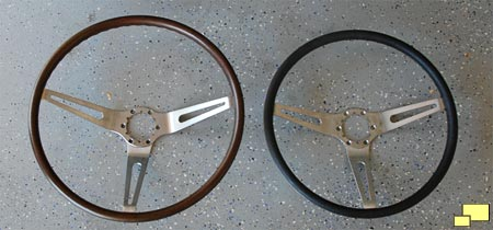 1968 and later Corvette steering wheels