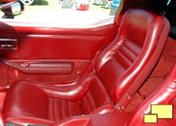 1979 and later Corvette seat