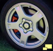 Stock 1997 thru 1999 Corvette wheel