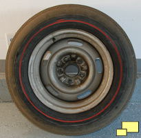 1968 Chevrolet Corvette Spare Tire
