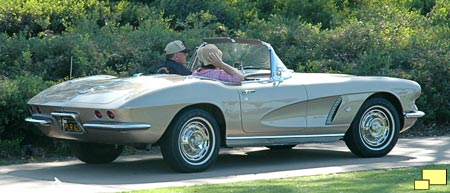 1962 Corvette with transitional rear styling
