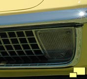 1970 turn signal and eggcrate grill