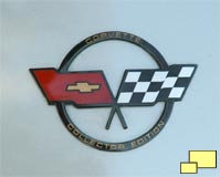 1982 Corvette Collector Edition nose badge