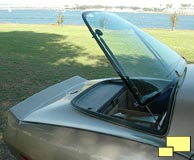 1982 Corvette rear hatch