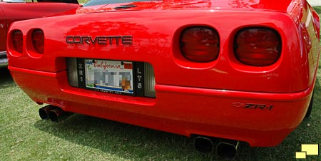 Corvette ZR-1 rear bumper