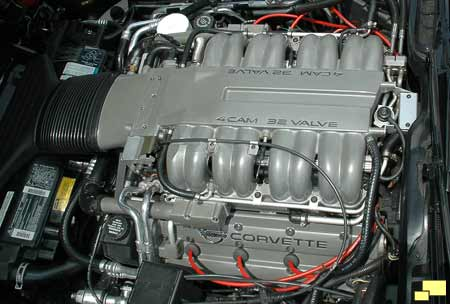 1990 Corvette ZR-1 engine